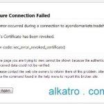 Tips mengatasi Firefox Error : Secure Connection Failed