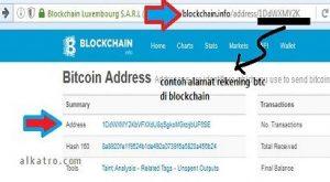 cek trx Bitcoin