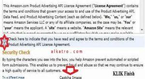 amazon-secret-credential agreement