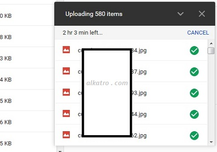 [upload 580 file ke googledrive]