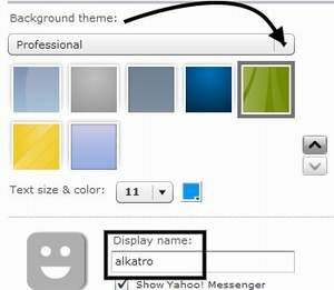 cara pasang widget ym-diblog