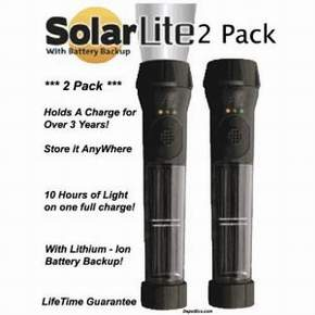 Best Hybrid Solar Powered Flashlight