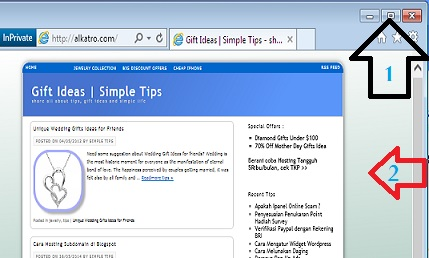 Cara Simple Cek Template Responsive